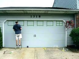 ideal overhead door how to install garage door window inserts privacy frosted
