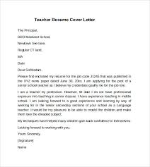 teacher cover letter example      download free documents in pdf    teacher resume cover letter example