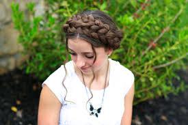 Pretty Girls Hairstyle milkmaid braid cute summer hairstyles cute girls hairstyles 7717 by stevesalt.us