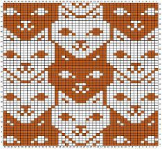 Cat Knitting Chart Ravelry Teehsus Tessellated Cats Knitting Charts