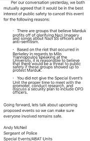 Oakland Metro Operahouse Cancels Marduk Show
