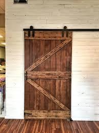reclaimed wood sliding barn door doors grain designs double z