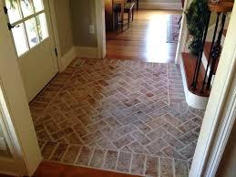 brick look tile flooring best floor ideas on kitchen porcelain