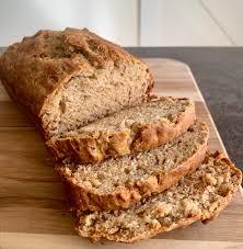 easy vegan banana bread recipe on the