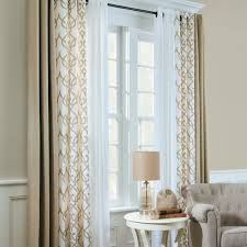 Living Room Insulated Curtains With Energy Efficient Window