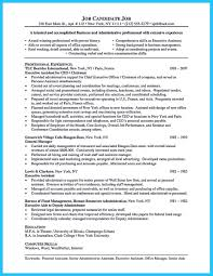 sample personal assistant resume personal assistant executive resumes word sample monster com