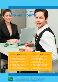 Poster The Office Workplace Etiquette Posters Friendly Reminders Alsco