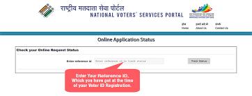 Election Id - Voter Data Status