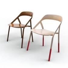 this carbon fiber chair by michael young for coalesse was developed in collaboration with a pany