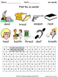 These free phonics worksheets explore the different ways that letters may sound. Short Ea Phonics Lesson Plans Worksheets And Other Teaching Resources