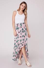 Jack By Bb Dakota Size Chart Haole Wrap Maxi Skirt