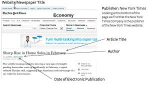 online format how to cite a newspaper in mla 7 easybib blog