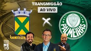 Santo André x Palmeiras | AO VIVO | Campeonato Paulista 2021 | Rádio Craque  Neto - YouTube