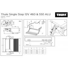 thule omnistep omnistor omni step slide out single double thule single step v15 12v thule single step v15 12v