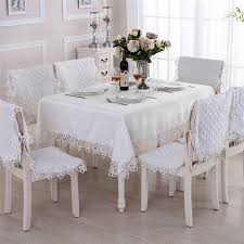 Furniture runners Tablecloth White Polyester Embroidered Lace Dining Table Cloths Home Decoration Table Runners Furniture Dust Cloths Neiman Marcus White Polyester Embroidered Lace Dining Table Cloths Home Decoration