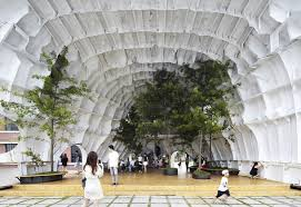 What is a pavilion Cedar Templ Pavilion Made From An Abandoned Ship Hull Seoul South Korea Photorator Templ Pavilion Made From An Abandoned Ship Hull Seoul South Korea