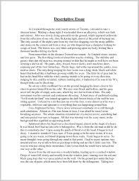 012 Narrative Descriptive Essay Introduction Of Essays