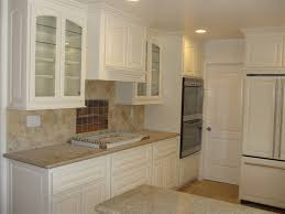 Modern Kitchen Door Handles Kitchen White Cabinet Glass Doors Beautify The Kitchen By Using