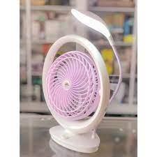 Quật để bàn tích hợp đèn, 2 trong 1,quạt tích điện có đèn led gấp gọn fan  lr có đèn led, thế kế nhỏ gọn – tiện lợi dễ sử dụng, bảo