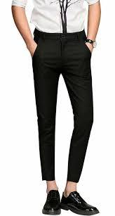 Sand Copenhagen Size Chart Plaid Plain Mens Cropped Dress Pants Mens Slim Fit Dress