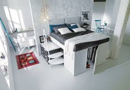 Space Saver Furniture For Bedroom Lofted Space Saving Furniture For Bedroom Interiors Tags