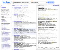 Job Resume Free Indeed Resume Search Free Resume Search View Resumes