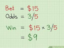 Sports Betting Odds Chart How To Read Odds 13 Steps With Pictures Wikihow