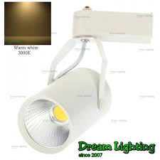 track rail lighting. Dream Lighting / 12W COB Track Rail LED Light Spotlight Lamp Adjustable For Shopping Mall Clothes Store Exhibition Office Use- Warm White (3000K)