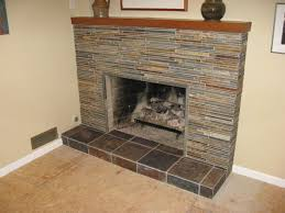 covering marble fireplace with slate tile google search