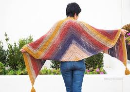 Lion Brand Mandala Yarn Patterns Beauteous FREE Pattern] Colorful And Easy Crochet Wrap Made With Lion Brand