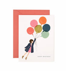 Fly Away Birthday Greeting Card By Rifle Paper Co Made In Usa
