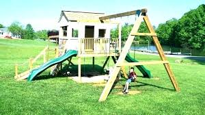 build your own wood swing set swing set kits how to make a frame simple plans build your own wood swing