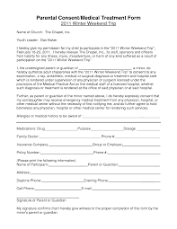 043 Medical Consent Forms Templates 20notarized Form For