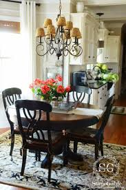 window breathtaking farmhouse round dining table 6 fascinating kitchen 13 best tables ideas diy set and