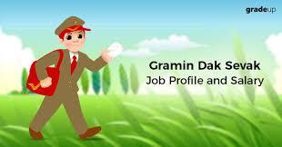 Postmaster Pay Chart Gramin Dak Sevak Salary Job Profile Pay Scale 2018 Post Wise
