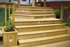 deck stair lighting ideas. unique ideas recessed  intended deck stair lighting ideas