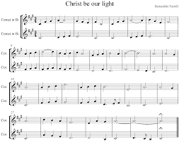 Christ Be Our Light Choir Index Of Htp Worship Songs 2016