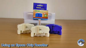 How to Use an Epson <b>Chip Resetter</b> - YouTube