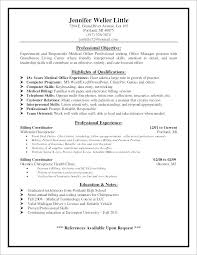 Medical Office Manager Resume Samples Healthcare Resume Examples