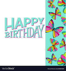 Happy Birthday Card Printable Template Happy Birthday Greeting Card Template With