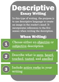 writing assignments fys fs b cults controversies libguides  descriptive essay additional tips for descriptive writing
