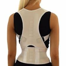 Details about Posture Corrector Back Brace Shoulder Support Magnetic Wrap Pain Belt Men Women