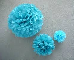 Paper Flower Balls To Hang From Ceiling Tissue Paper Balls Small Medium And Large Tissue Paper Poms