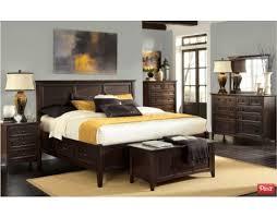 Westlake Dark Mahogany Bedroom Set by A. America   Furniture Mall of ...