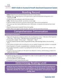 F And P Reading Level Chart F And P Flow Chart Sept2014