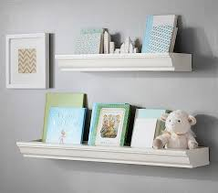 wall shelf ideas for baby room