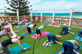 the spirit bird life fluro friday ocean view charity yoga
