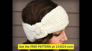 Easy Crochet Headband Pattern Free Gorgeous Easy Crochet Headband Pattern YouTube