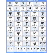 Abcd Chart In Hindi Trace Learn Writing Hindi Alphabet Vowel And Number