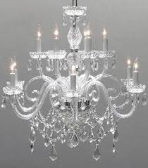 swarovski crystal lighting. Perfect Lighting Swarovski Crystal Trimmed Chandelier Chandelier Lighting  Chandeliers H27u0026quot  Intended
